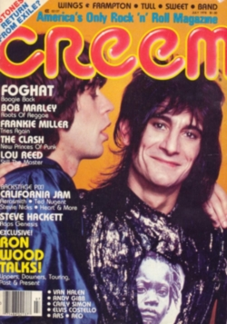 Image result for creem magazine 1975